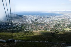 Beautiful Day above Cape Town