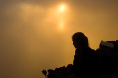Sun Set on Table Mountain