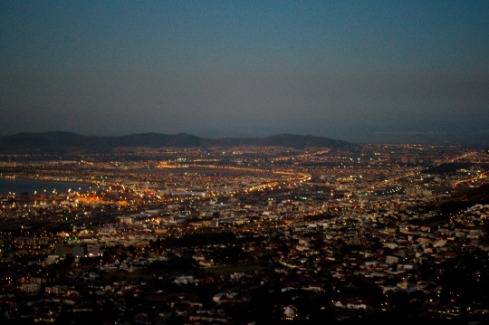 Cape Town City Lights